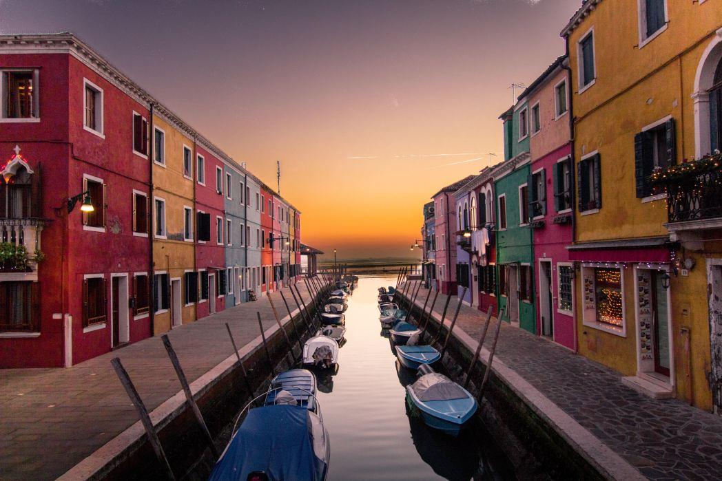 I 20 tramonti più belli d'Europa: Burano