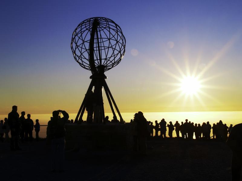 I 20 tramonti più belli d'Europa: Capo Nord