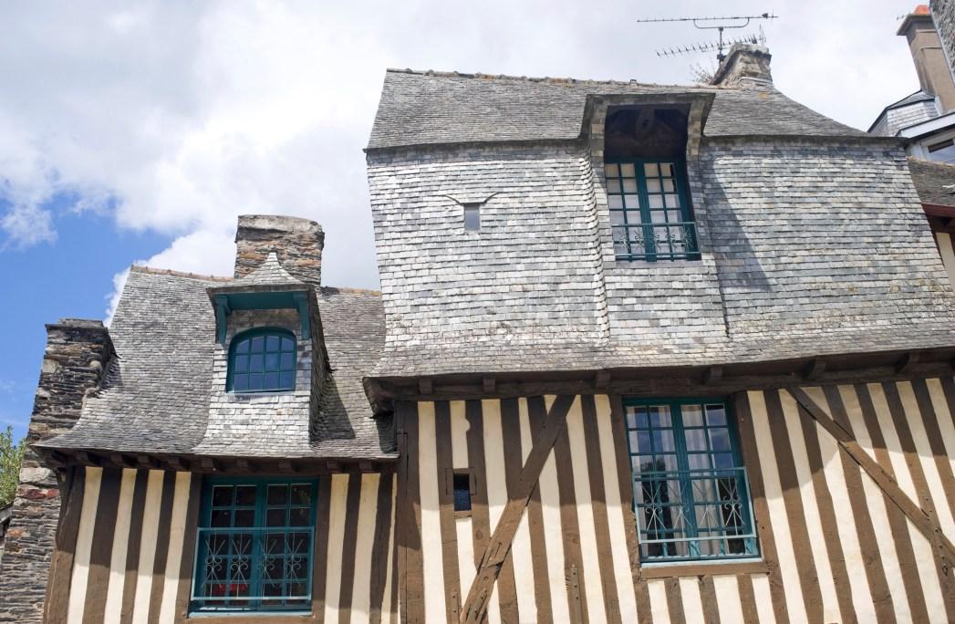 facciata della locanda auberge du chateau a vitre
