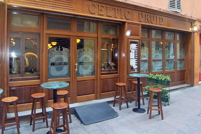 Irish Pub Celtic Druid Bologna
