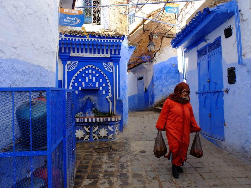Grandi viaggi low cost: Marocco, Medina di Chefchaouen