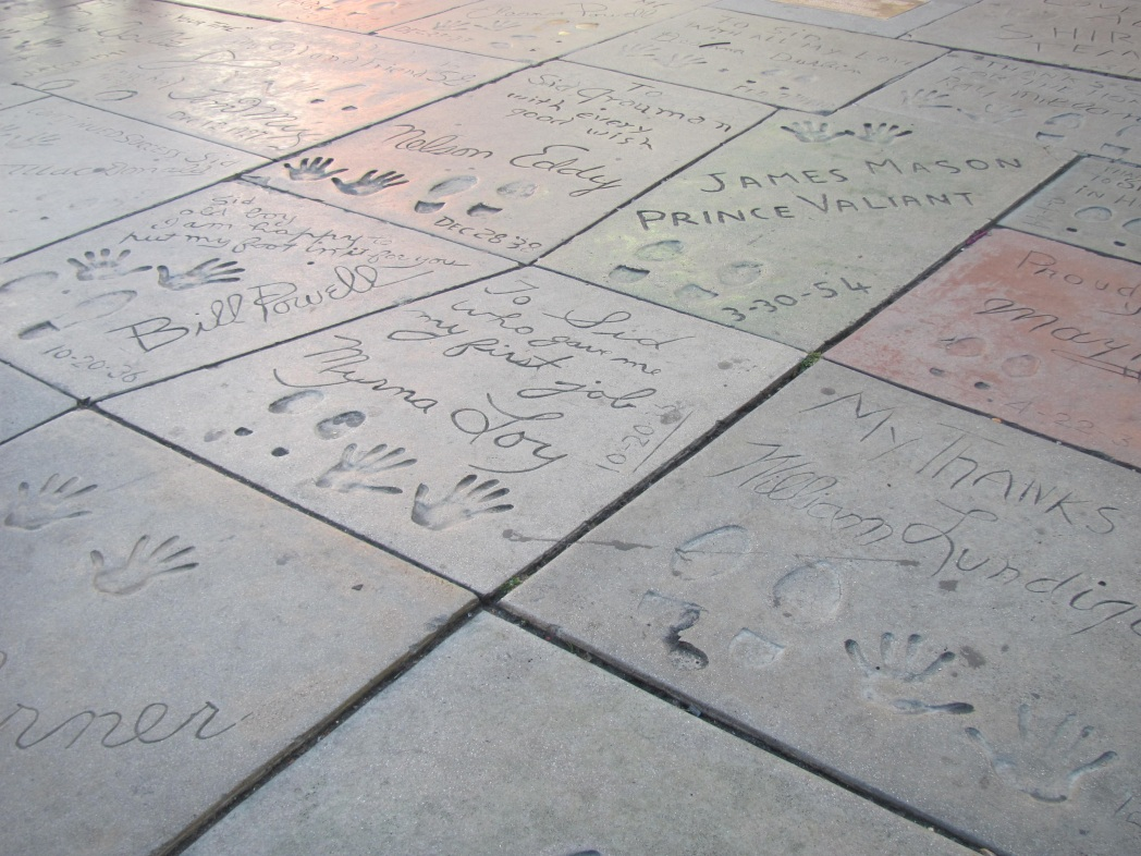 Orme al Chinese Theater
