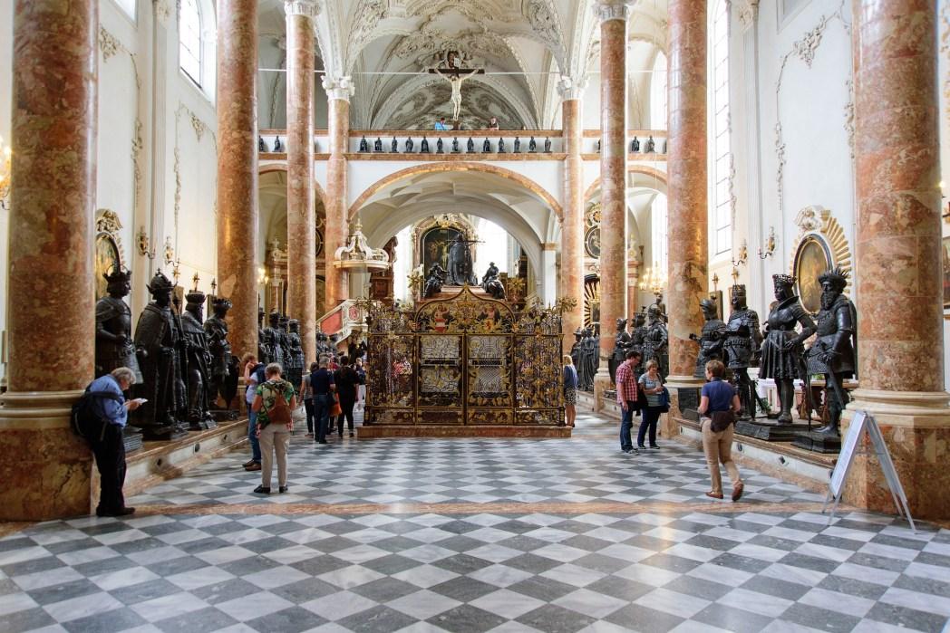 Innsbruck, cosa vedere - Chiesa di Corte