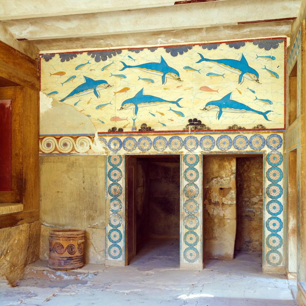 Palazzo di Cnosso, un particolare