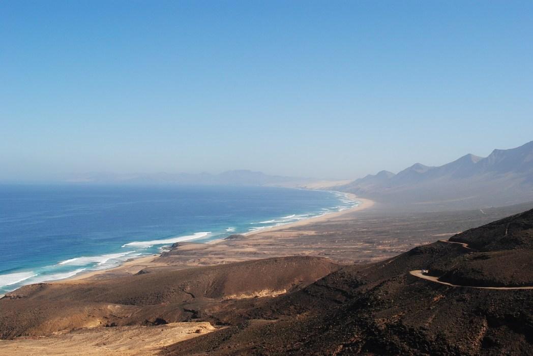 Le spiagge più belle di Fuerteventura: Playa de Cofete