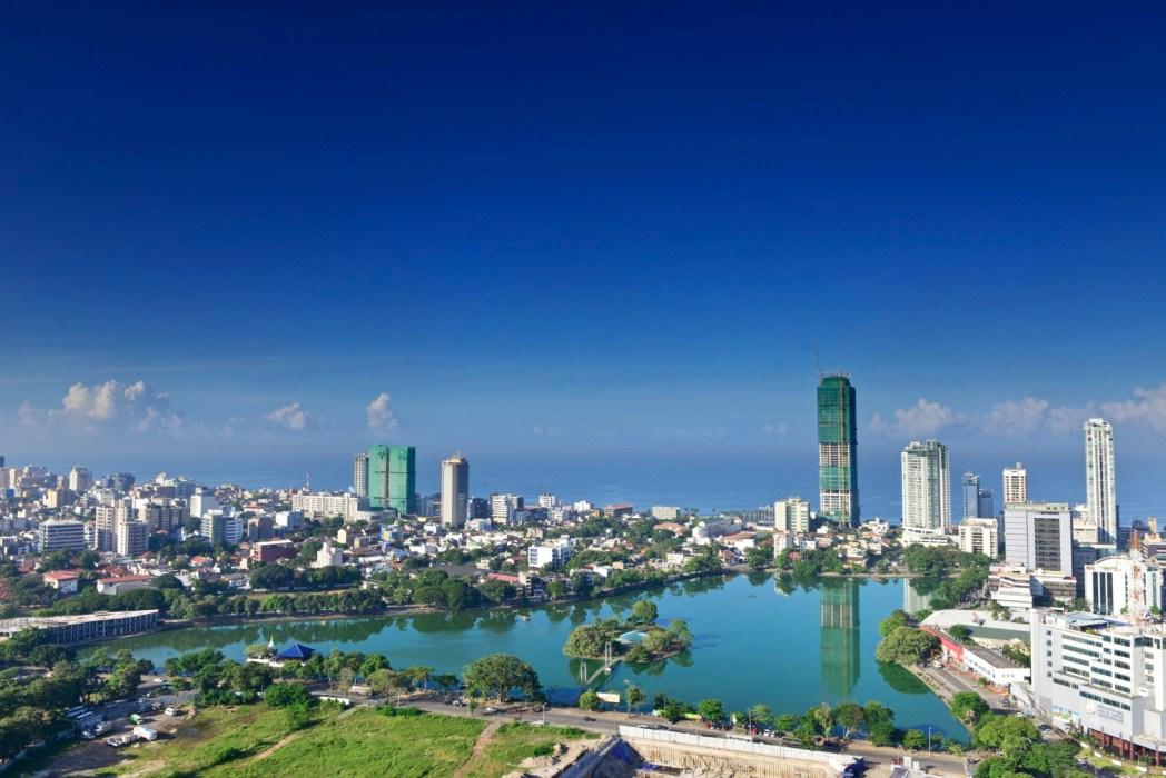 Vista della splendida città di Colombo