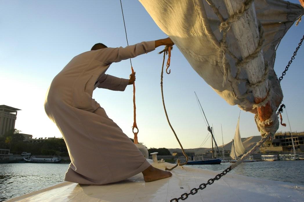 Egitto, catturare il vento
