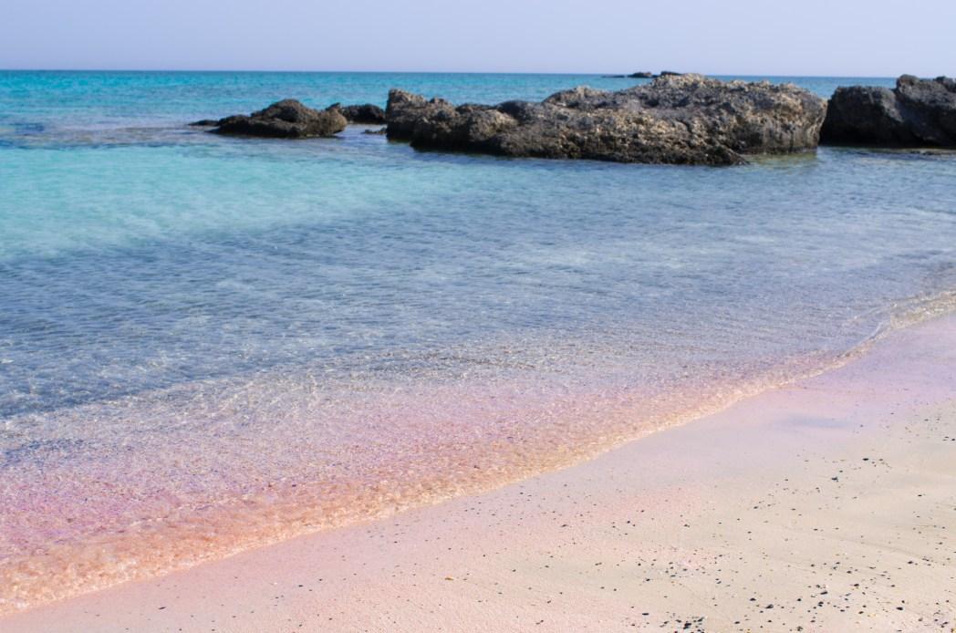 La spiaggia rosa di Elafonissi