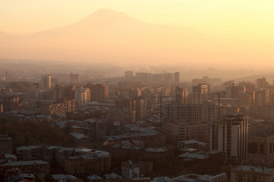 Ararat e Yerevan, Viaggio in Armenia