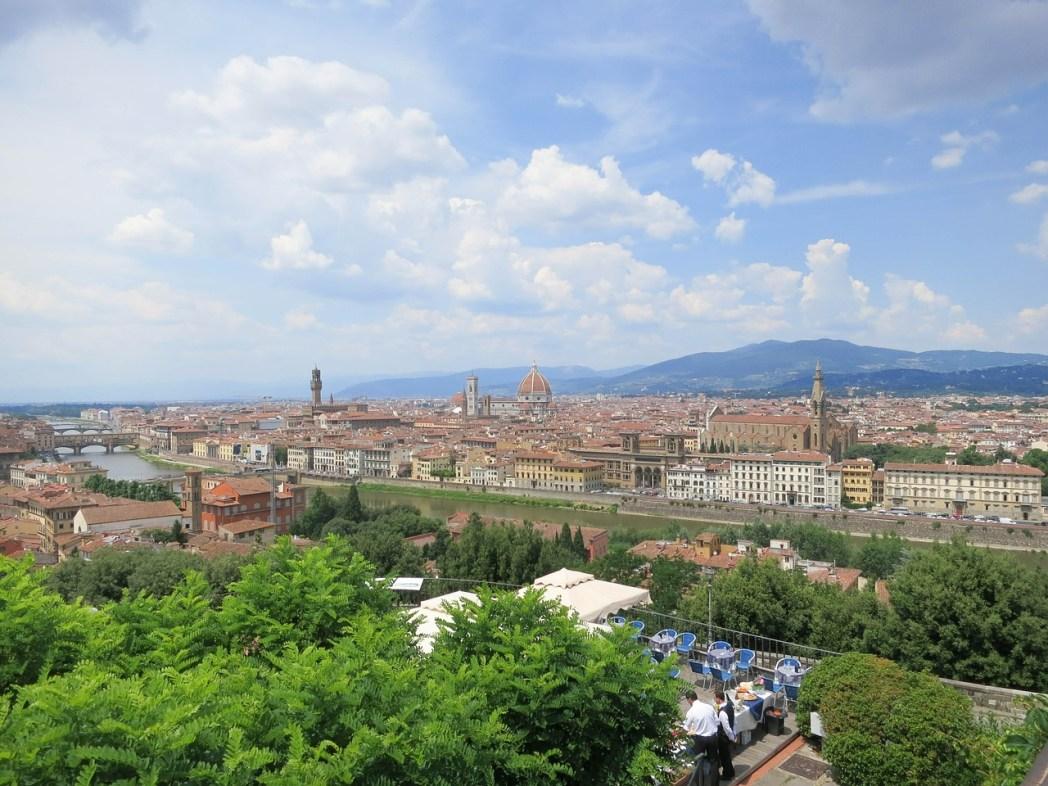 Firenze cosa vedere: Piazzale Michelangelo