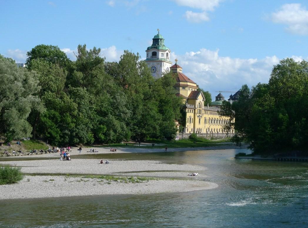 Le rive dell'Isar
