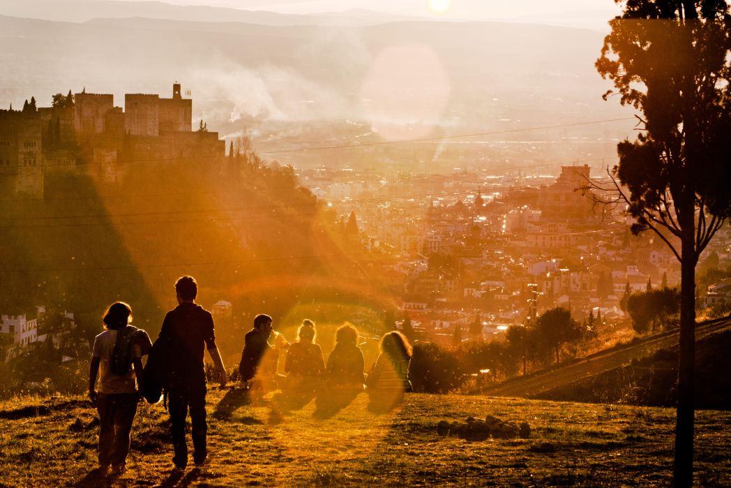 I 20 tramonti più belli d'Europa: Granada