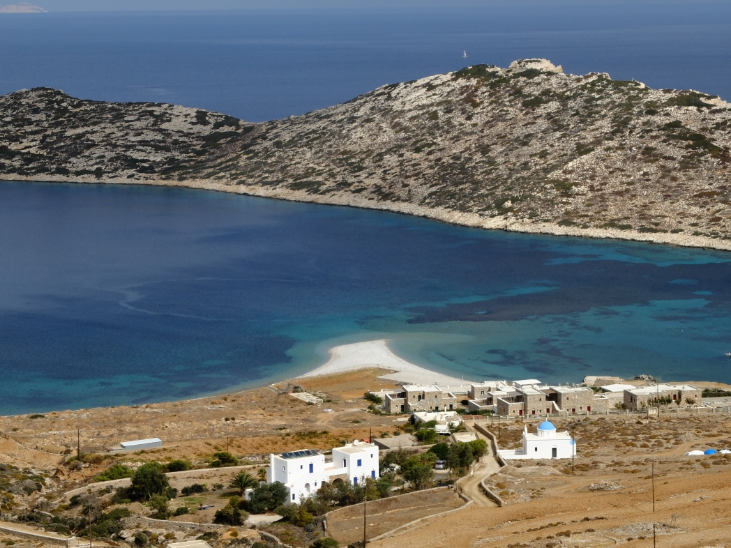 Vacanza ad Amorgos, Spiaggia di agios pavlos