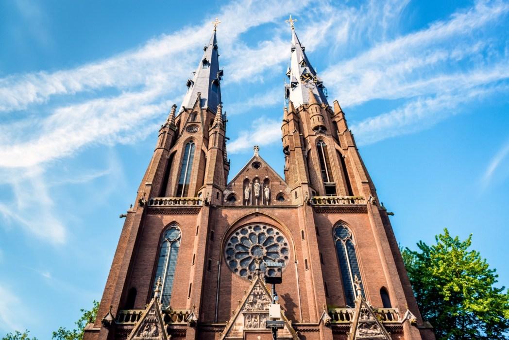 La chiesa di Santa Caterina a Eindhoven