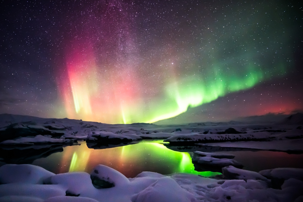 Islanda, l'aurora boreale