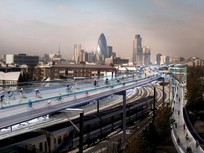 Londra futurista toronto da primato e le aurore boreali nel mondo