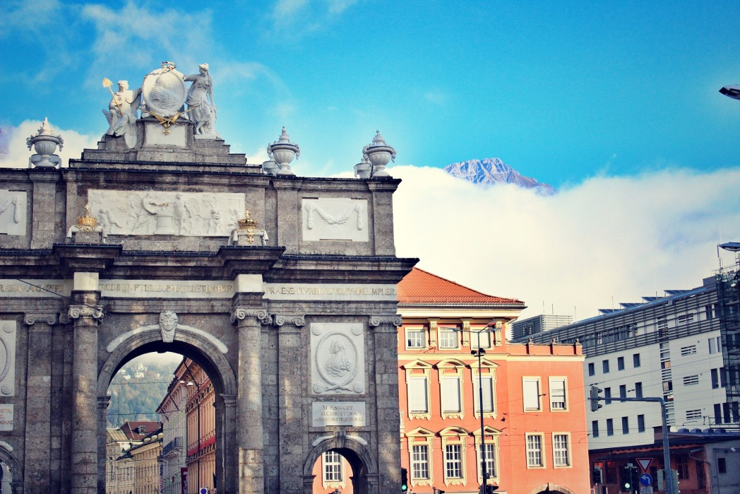 Innsbruck, cosa vedere - arco di trionfo