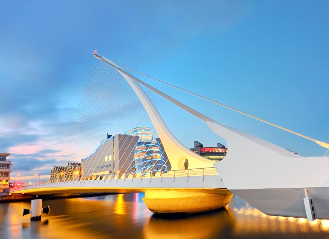 Dublino, Samuel Beckett Bridge