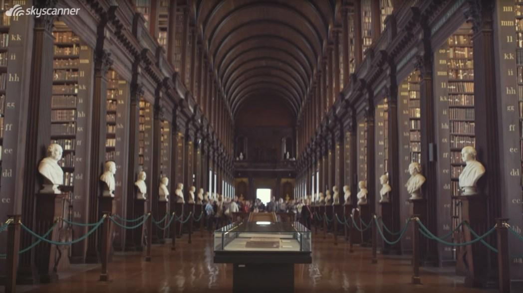 Dublino, Trinity College Old Library