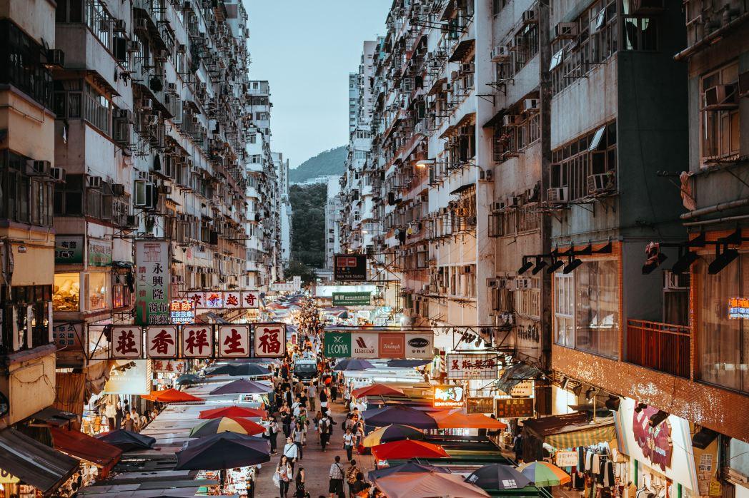 Hong Kong, cosa vedere -mercato di Kowoloon
