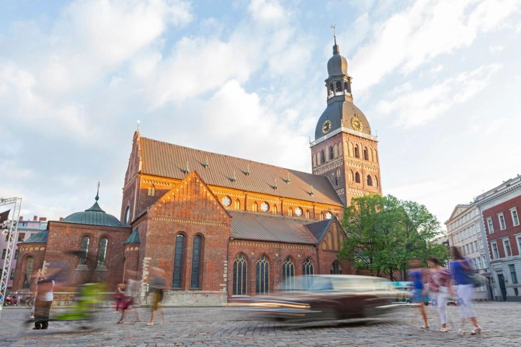 Ingresso del Duomo di Riga