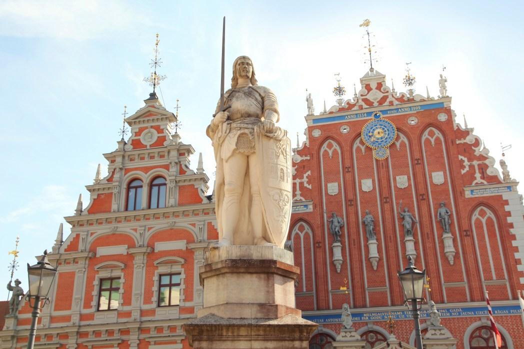 Riga, Statua di Rolando