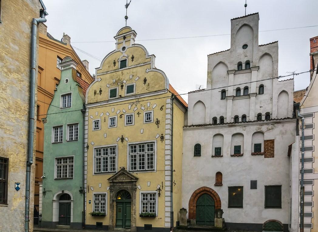 Riga, I Tre Fratelli