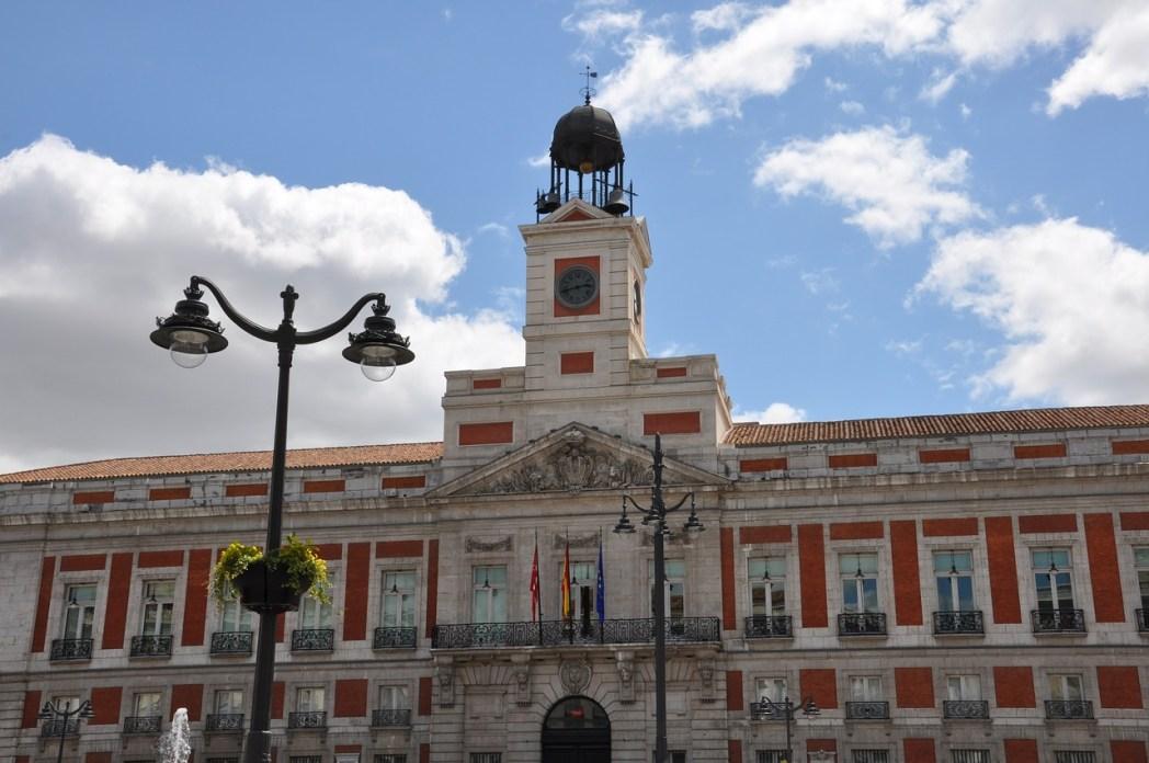 Madrid cosa vedere Puerta del Sol