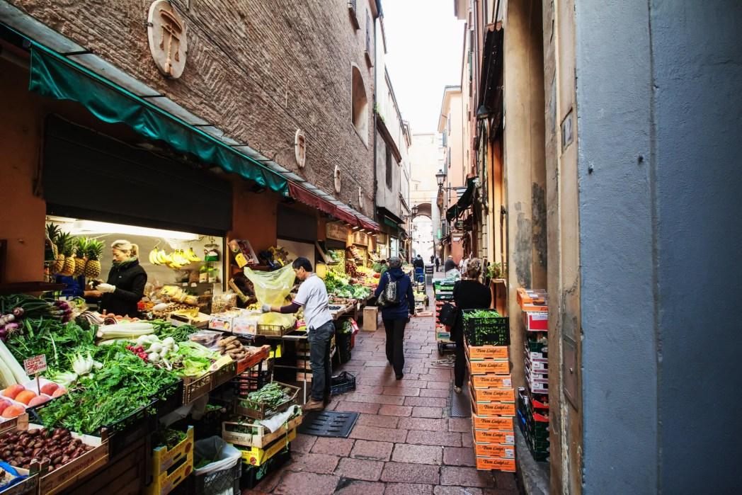 Bologna, mercato