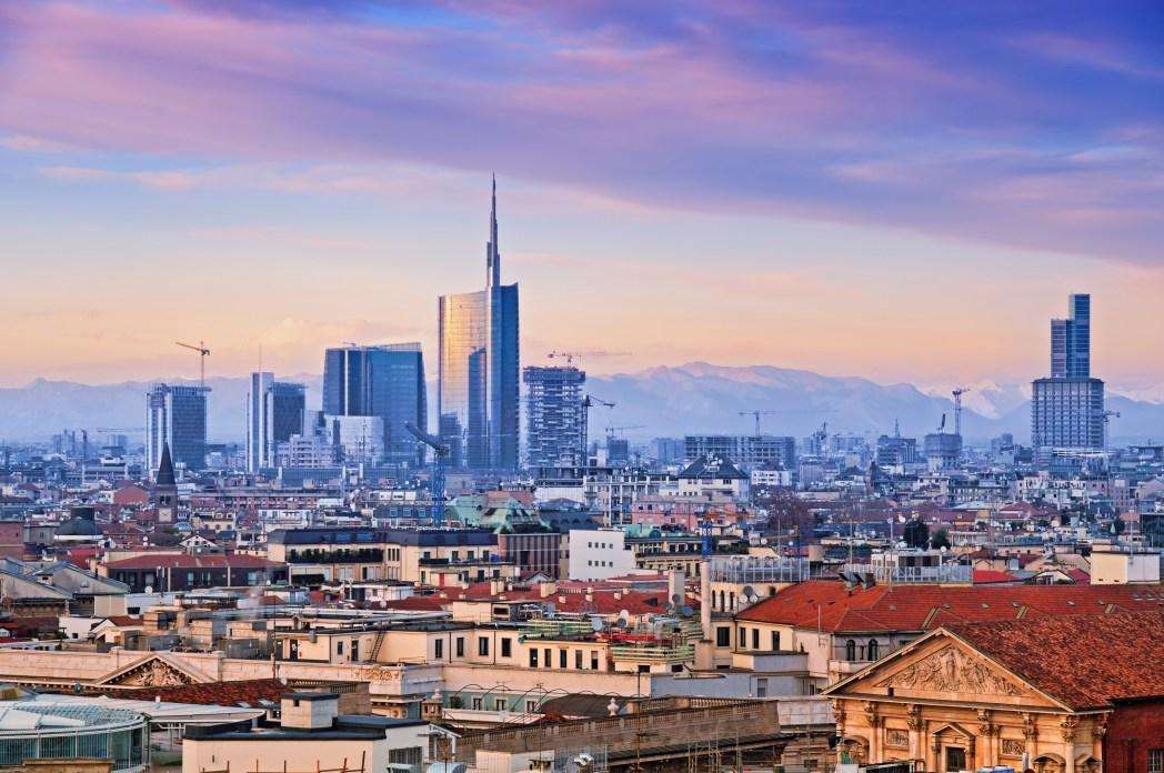 Quartieri di Milano - skyline di Porta nuova