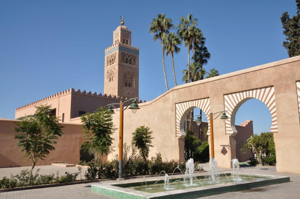 Marrakech, moschea Koutoubia