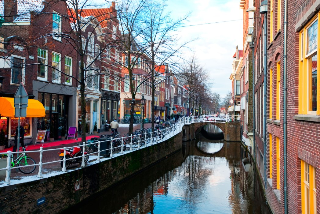Delft, canale