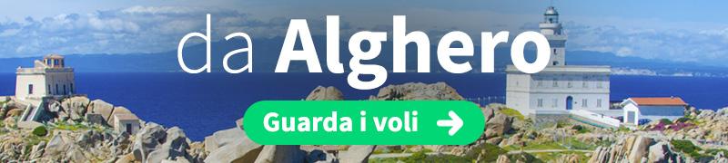 Offerte voli economici da Alghero