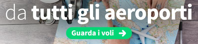 Offerte voli economici da tutta Italia