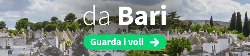 Offerte voli economici da Bari