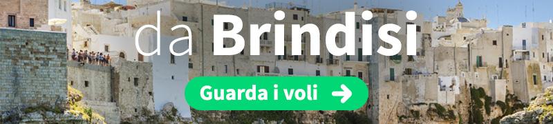 Offerte voli economici da Brindisi - Salento