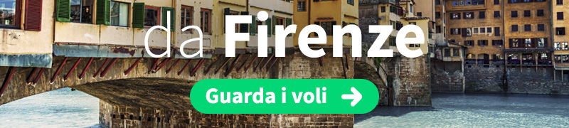 Offerte voli economici da Firenze
