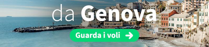 Offerte voli economici da Genova