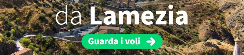 Offerte voli economici da Lamezia Terme