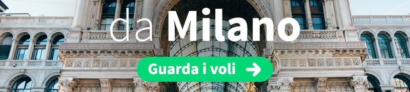 Offerte voli economici da Milano
