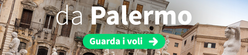 Offerte voli economici da Palermo