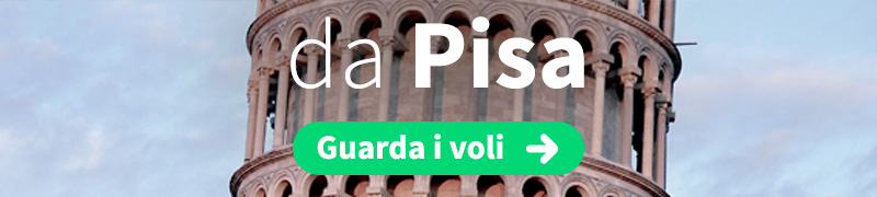 Offerte voli economici da Pisa