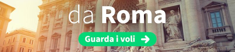 Offerte voli economici da Roma