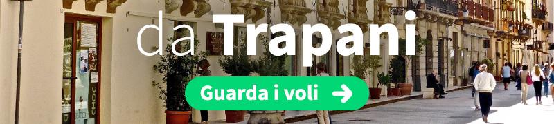 Offerte voli economici da Trapani