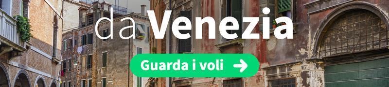 Offerte voli economici da Venezia