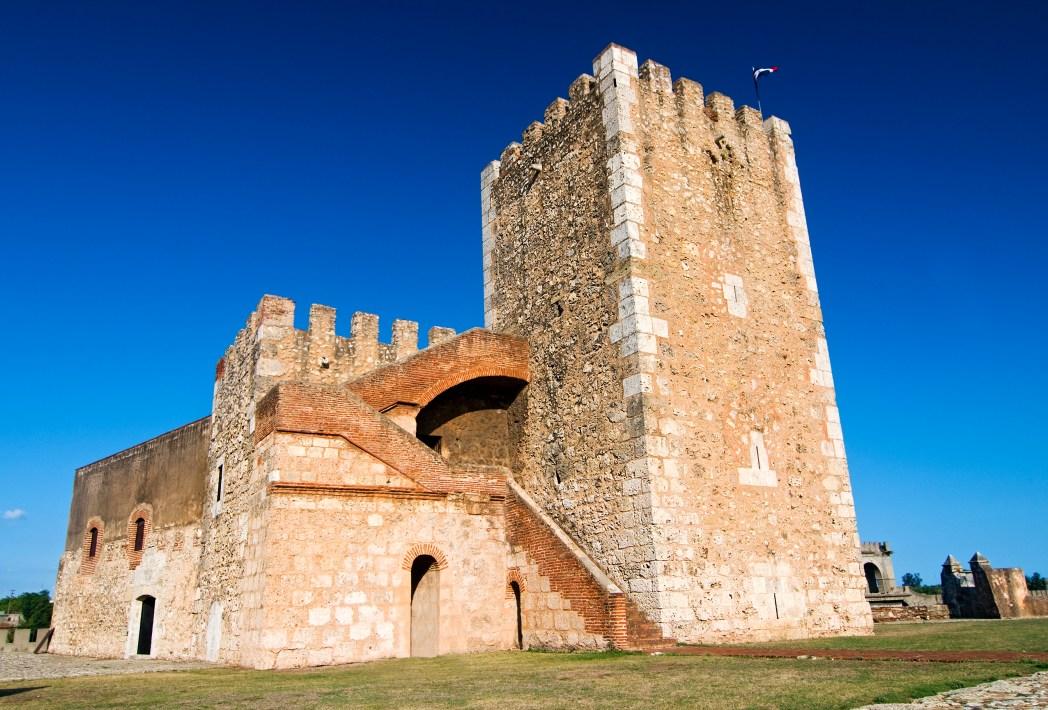 Vista dell'Ozama Fortress