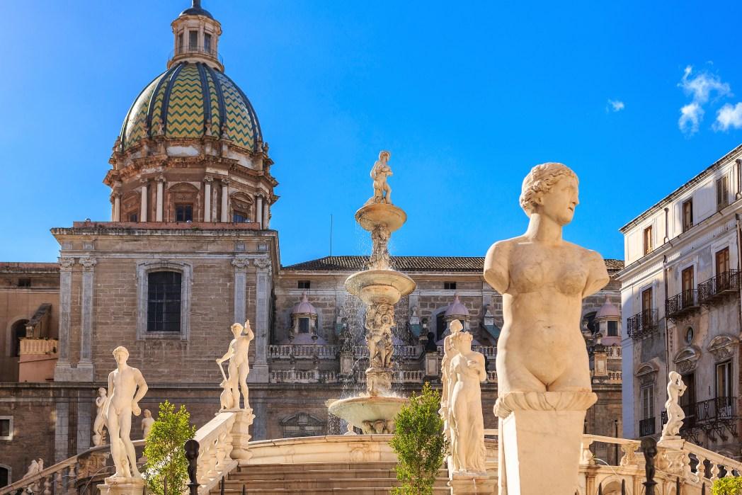 Quartieri di Palermo: Fontana Pretoria