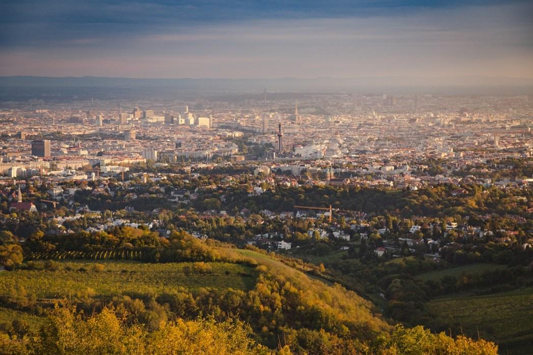 Vienna dall'alto