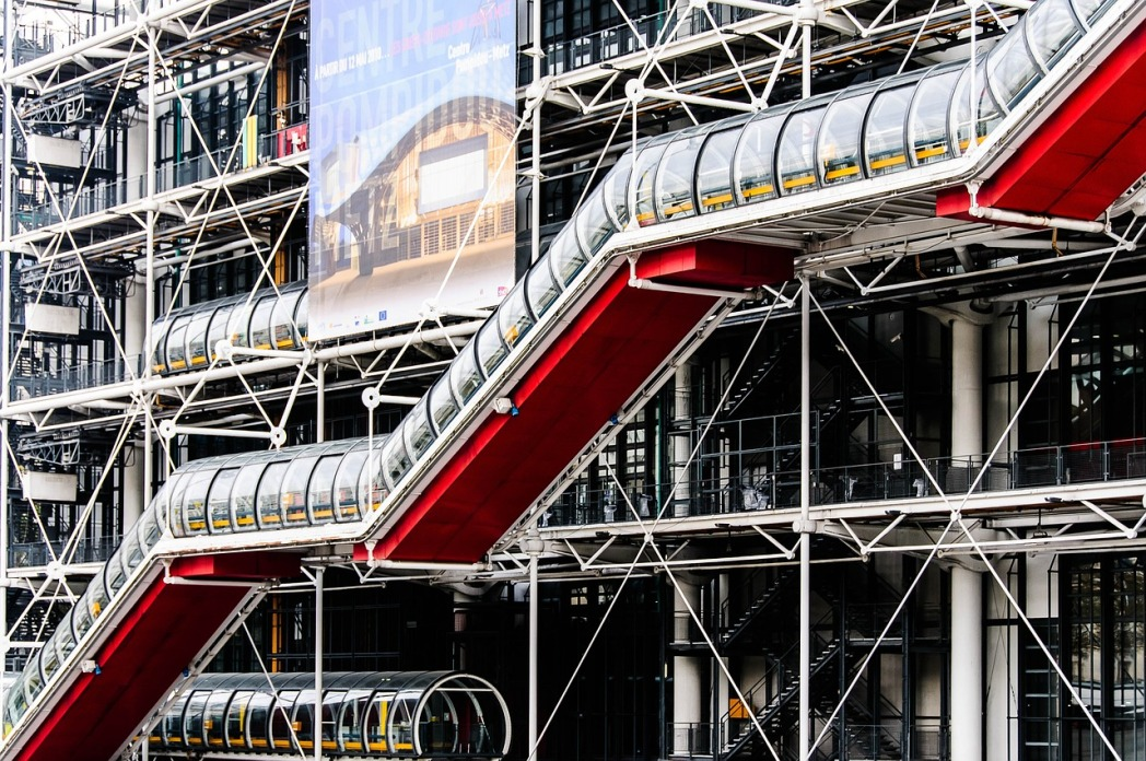 Centro Pompidou, cosa vedere a Parigi