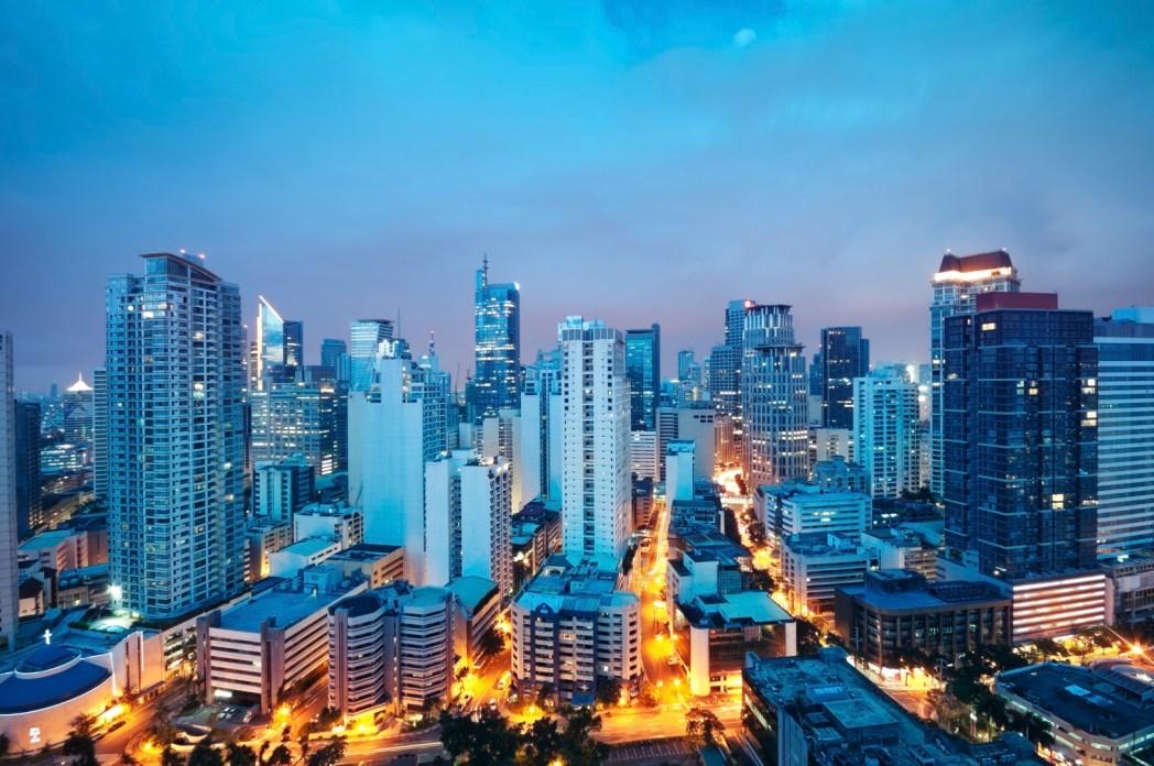 Veduta di Manila